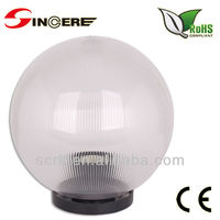 outdoor lighting uvioresistant acrylic glass globe light covers led landscape fixture