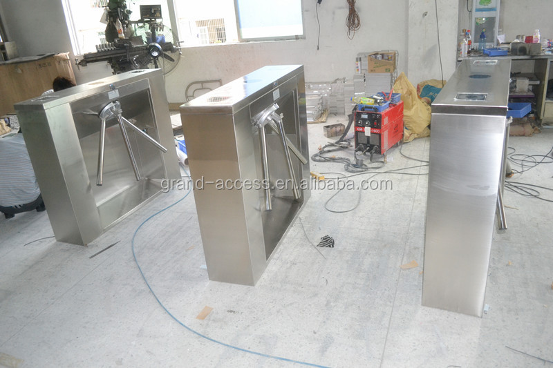 CE Approved waist high tripod turnstile,stainless steel turnstile,turnstile gate for access control security GAT-101A