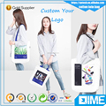 Wholesale Custom Logo Printed Raw Cotton Canvas Tote Bag