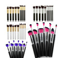 2018 Free Sample Facial Luxury Make Up Brushes Black 8 Pcs Makeup Brush Set