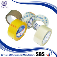 Wholesale Colored BOPP Adhesive Carton Sealing Packing Tape Manufacturers