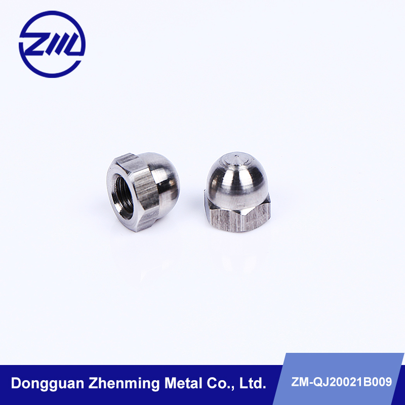 stainless steel dome head cup nuts to fit bolts and screws