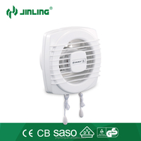 6'' bathroom ventilating fan/window mount exhaust fan CB CE