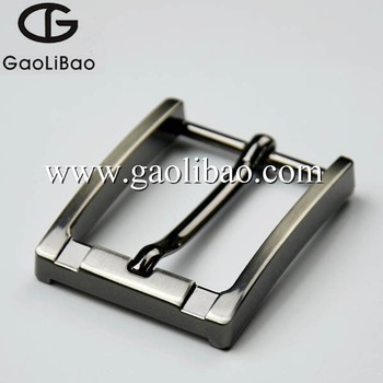 Newly designed 35mm single pin buckles metal prong buckles for men's belt ZK-350672