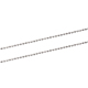 Hoyoo New arrival fashion bead necklaces stainless steel 1.5mm stainless steel ball chain for women