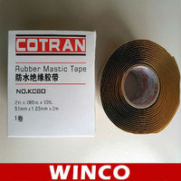 KC80Cold Applied Tape Coating rubber mastic tape for Steel Pipe Anti corrosion Coating