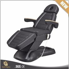 TS-2128E Electric comfortable hydraulic facial bed spa table tattoo salon chair for sale
