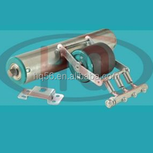 DR-01 china carbon steel gravity conveyor damping roller