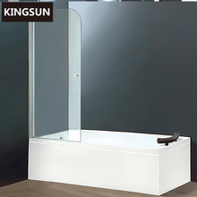 K-31 Constraction Hotel Use White Acrylic Shower Bath Cubicle With Screen