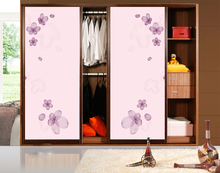 Best selling double color wardrobe design furniture bedroom