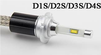 h4 led headlight bulbs for automotive lighting system copper belt