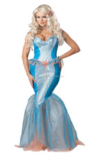 Wholesale Party Cheap Mermaid Costume for Halloween