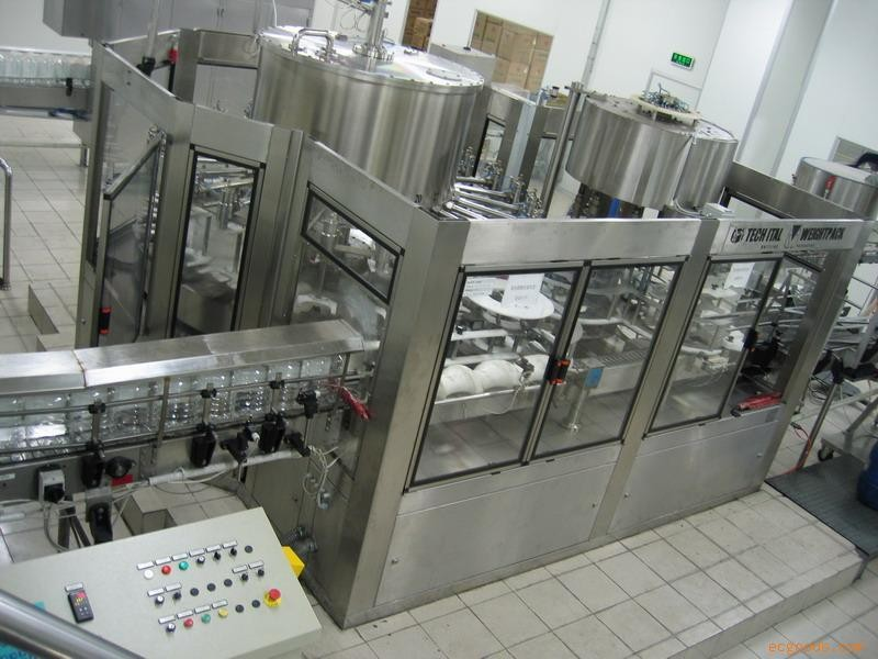 3 in 1 Automatic Concentrate Juice Filling Machine