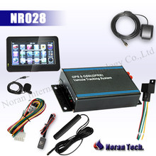 Camera Gps Navigation Tracker with Display screen R232 Port google map