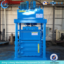 Factory Direct Sale plastic waste paper baling machine with high performance - LUHENG