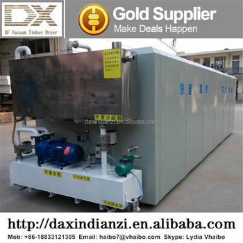 DX-6.0III-DX Wood Drying Vacuum Kiln Chamber From DAXIN, High Frequency Woodworking Machinery