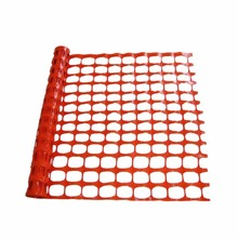 color plastic orange airport safety fence