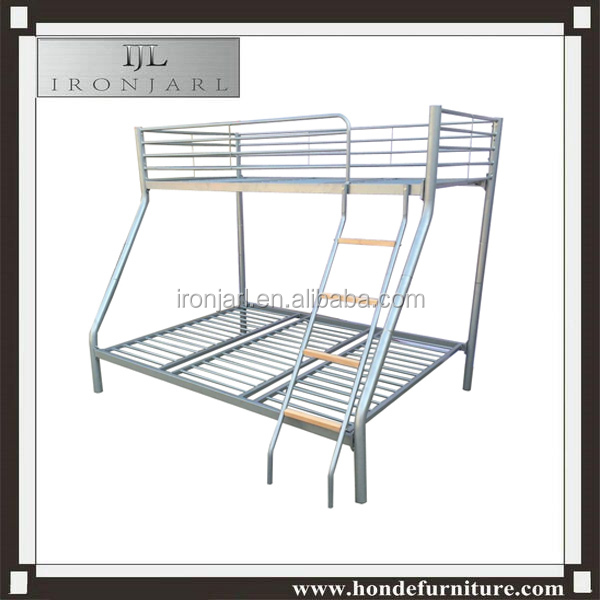 2016new model triple metal bunk bed