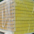 fireproof insulation rockwool sandwich panel for wall