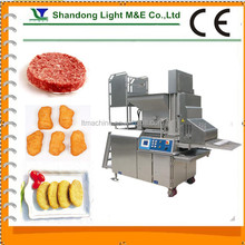 Automatic Vegetarian Beef Fish Chicken Nugget Forming Machine