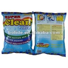 blue detergent laundry powder