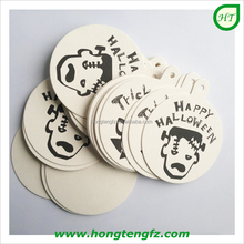 Happy Halloween! Hotel restaurant drink cup pad disposable paper coaster for party