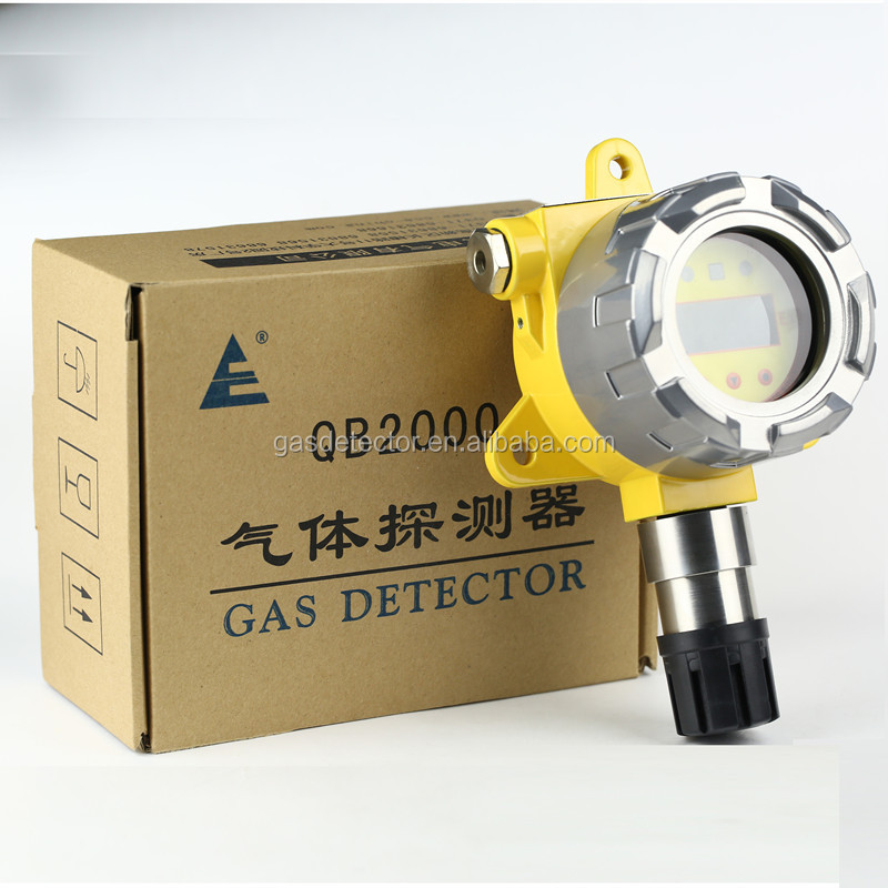 Explosion proof monitor,h2s detector with cast aluminum house and replaceable sensor for h2s