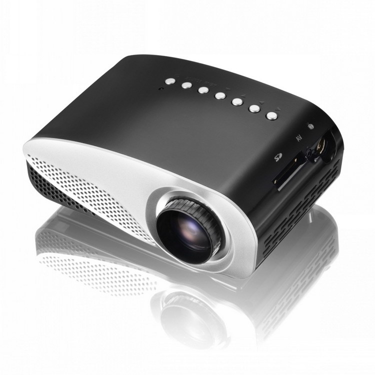 LED Mini Video LCD 1080P projector 3D Home Theater blh Projector Full HD Proyector Beamer Projetor