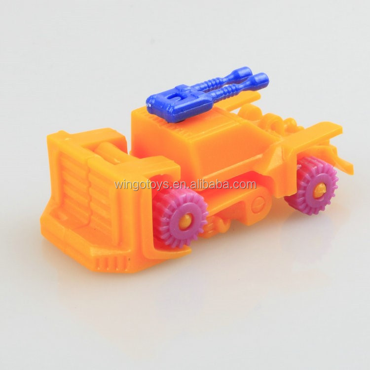 Assembly interesting diy chariot car toy egg surprise