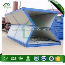 CE SGS BV TUV UL China easy installation flat pack folding container house