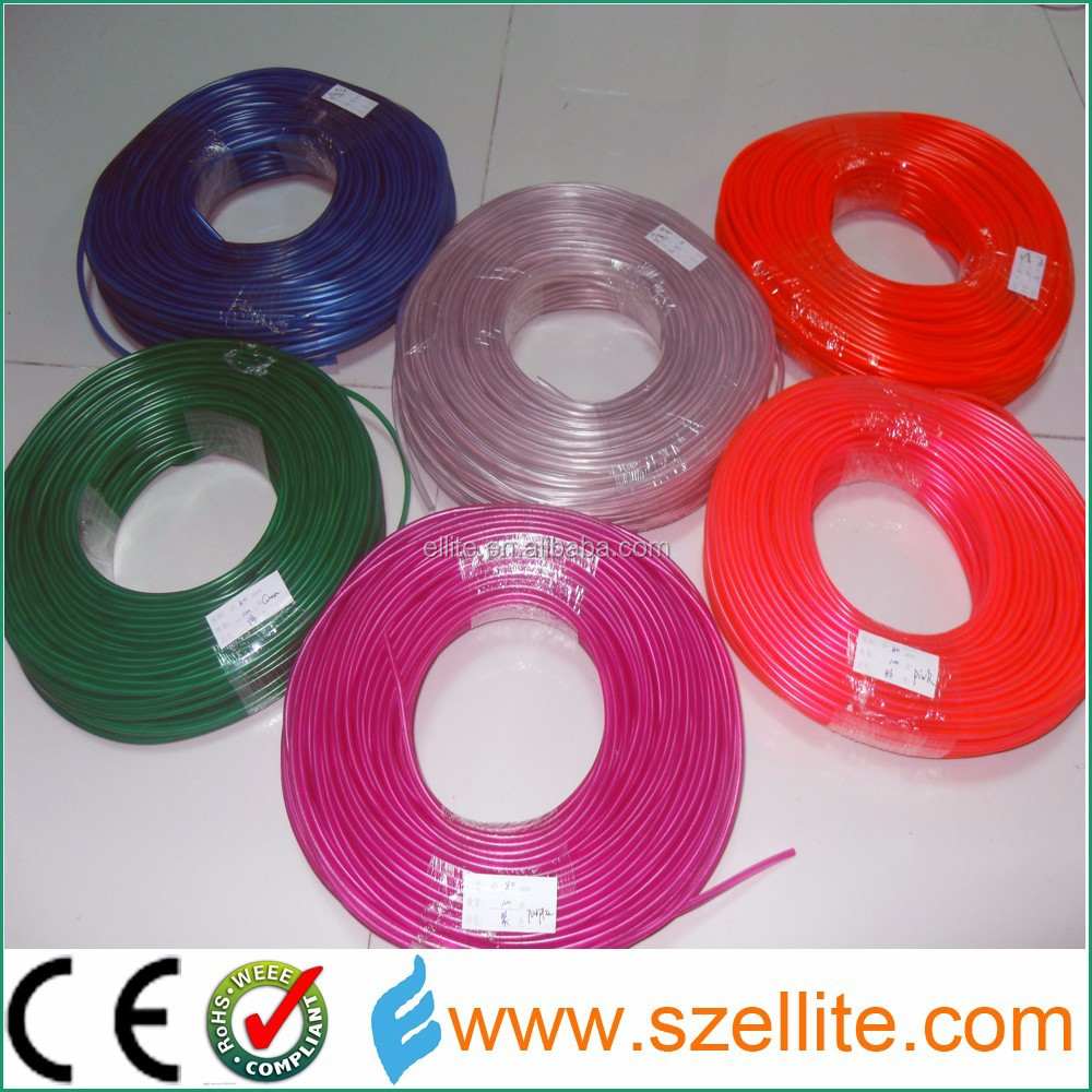 China top manufacturer CE high brightness 1.4mm 2.3mm 3.2mm 4.0mm 5.0mm 5.0 mm el wire