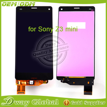 LCD With Touch screen For Sony Xperia Z3 Mini LCD Display For Sony Z3 compact digitizer complete For sony z3 mini lcd