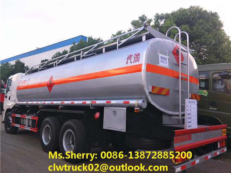 2017 brand new DFAC 6*4 fuel oil tanker truck for sale in Saudi Arabia