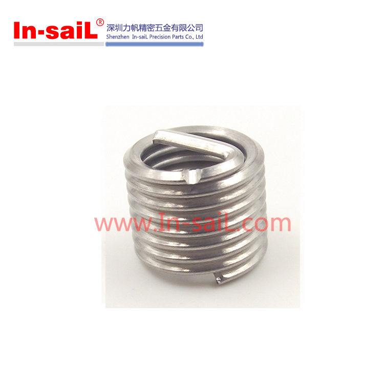 China supplier fastening service stainless steel wire thread repairing inserts for aluminum manufacturer