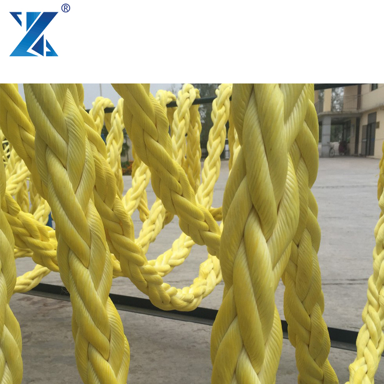 Quick delivery 8 strand color UHMWPE marine /Dock Line/Nylon Rope