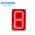 Hotcake REGULAR Blue Color 7 Segment Electronics Scoreboard Wireless Gas Station LED Price Sign LED Open Sign