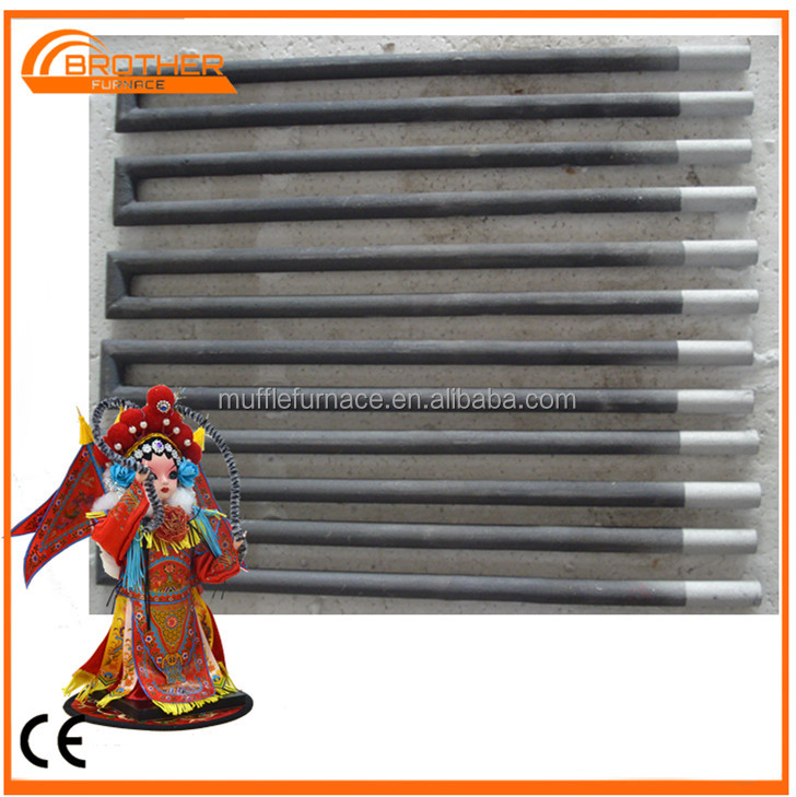 Long lifetime!high quality!industrial/lab furnace heater SiC heating rods