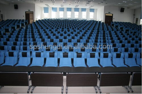 plastic theater chair for sale auditorium chair with writing pad