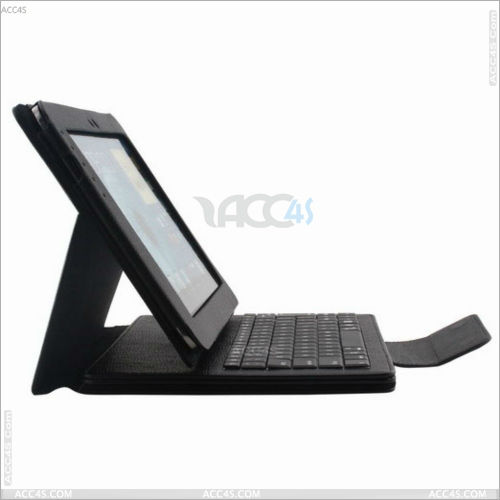 Hot Selling Detachable Leather Bluetooth Keyboard Case with Stand for Samsung Note 10.1 N8000 P-SAMNOTE10CASE013