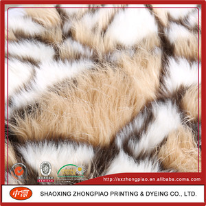 China Manufacturer Polyester faux fur fabric plush