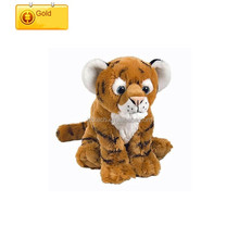 Chinese Factory selling plush animal tiger customized design tiger stuffed toys soft cheap Toy
