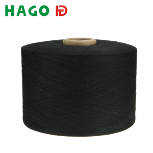 NE14 NE20 Cheap regenerated/recycled cotton polyester blend sock yarn for socks knit machine