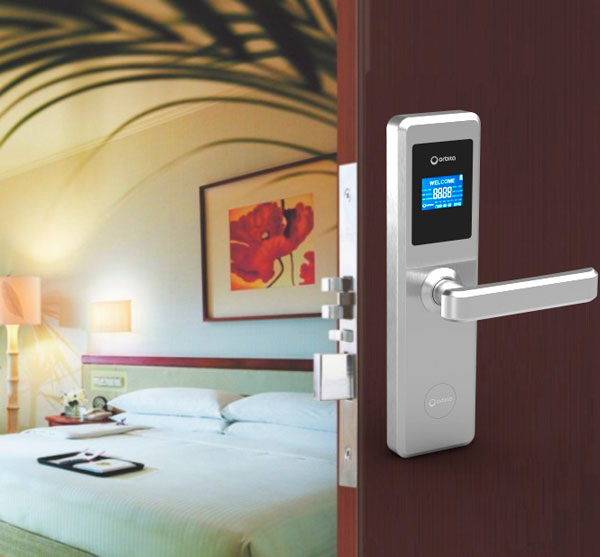 Orbita produced hotel key card lock for over sea market