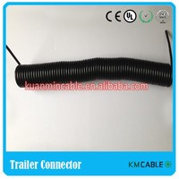 China wholesale 7pin 12V ISO 1724 truck cable