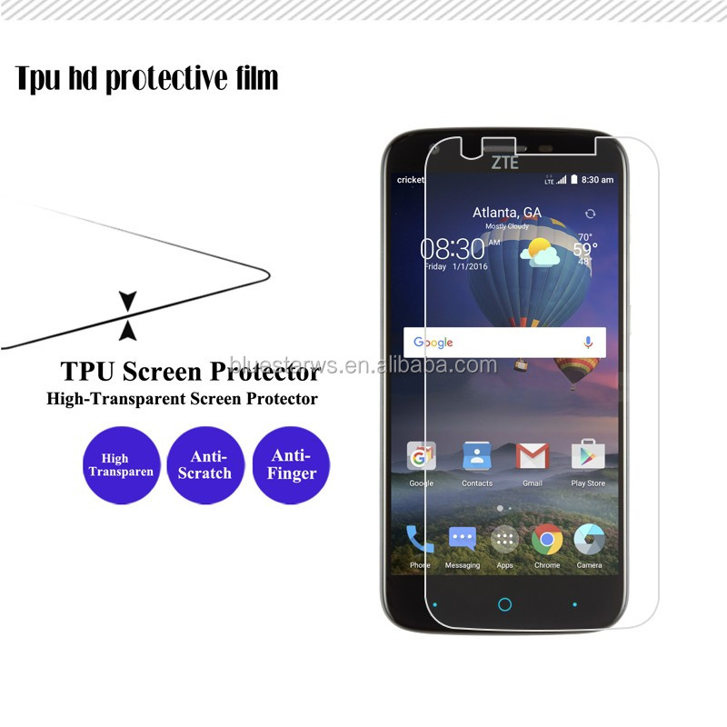 High Quality Clear Screen Protector Pet Film Screen Protector For Samsung A3 2017