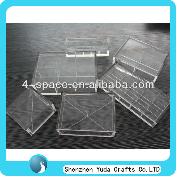 clear acrylic candy dispenser/store acrylic candy box/candy container
