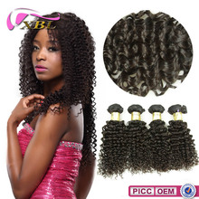 8A Mongolian Curly Wholesale Price Virgin Single Drawn Human Hair