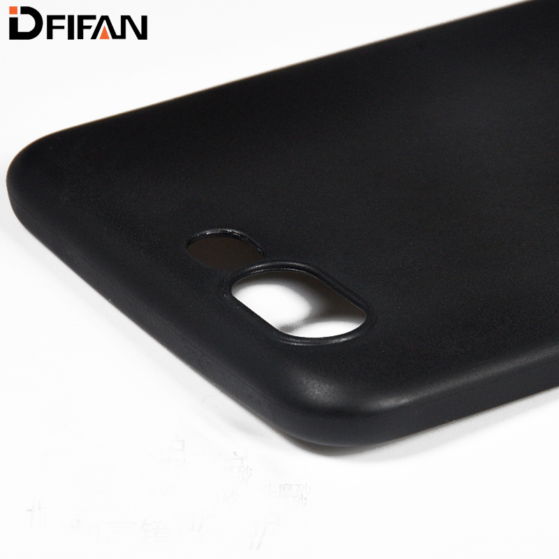 DFIFAN 2017 One plus5 cover case soft TPU one plus 5 matte black phone case for oneplus 5