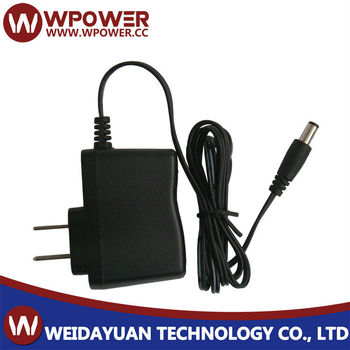 6V 1A 6W Plug In AC To DC Switching Mode Power Supply Adapter