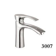 Basin faucet with single handle brass body bathroom equipment basin mixer tap for sale